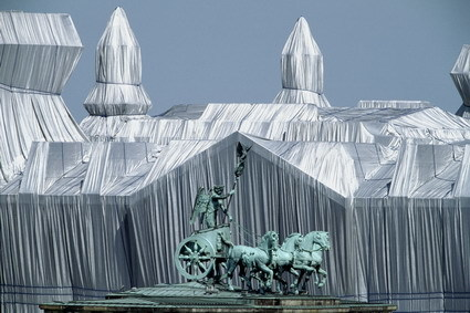 "Wolfgang Volz: ""Wrapped Reichstag- TE-540"" (2007)"