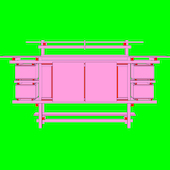 Michael Craig-Martin - Design and Architecture (Gerrit Rietveld - part 1 of diptychon)