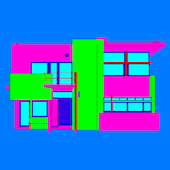 Michael Craig-Martin - Design and Architecture (Gerrit Rietveld - part 2 of diptychon)