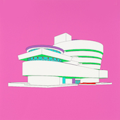 Michael Craig-Martin - Plan and Elevation (Guggenheim - part 2 of diptychon)