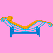 Michael Craig-Martin - Design and Architecture (Le Corbusier - part 1 of diptychon)