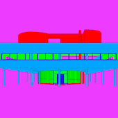 Michael Craig-Martin - Design and Architecture (Le Corbusier - part 2 of diptychon)