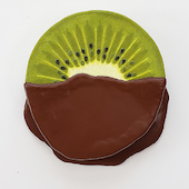 Peter Anton - chocolate dipped kiwi