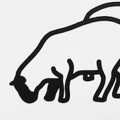 Julian Opie - Nature 1 - Sheep 1
